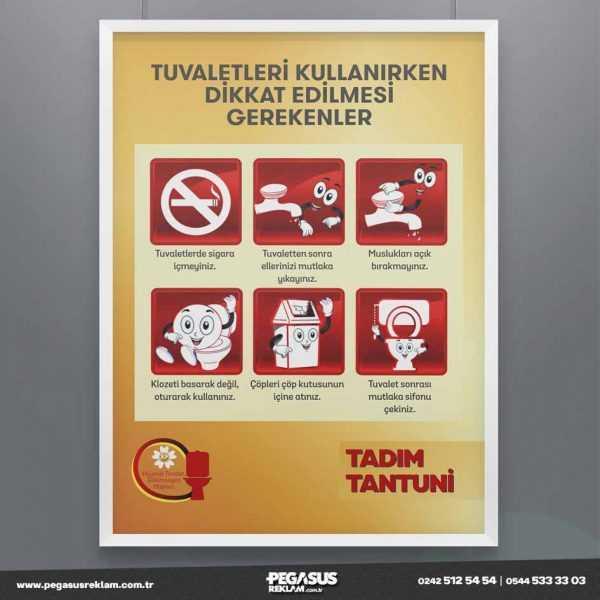 Tuvalet Kurallari Poster